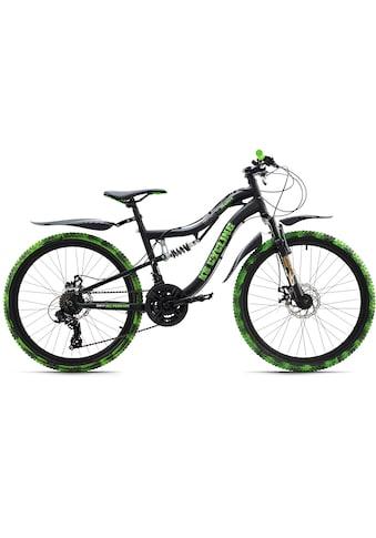 KS Cycling Jugendfahrrad »Crusher«, 21 Gang Shimano Tourney Schaltwerk, Kettenschaltung kaufen