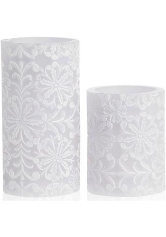 Pauleen LED-Kerze »Wachskerze Little Lilac Candle 2er Set« kaufen
