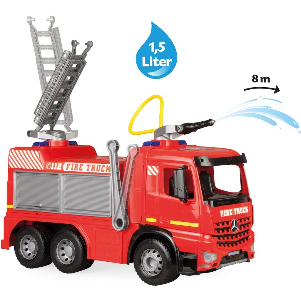Lena® Spielzeug-Feuerwehr »Giga Trucks, Aufsitz-Feuerwehr Arocs«, Made in Europe
