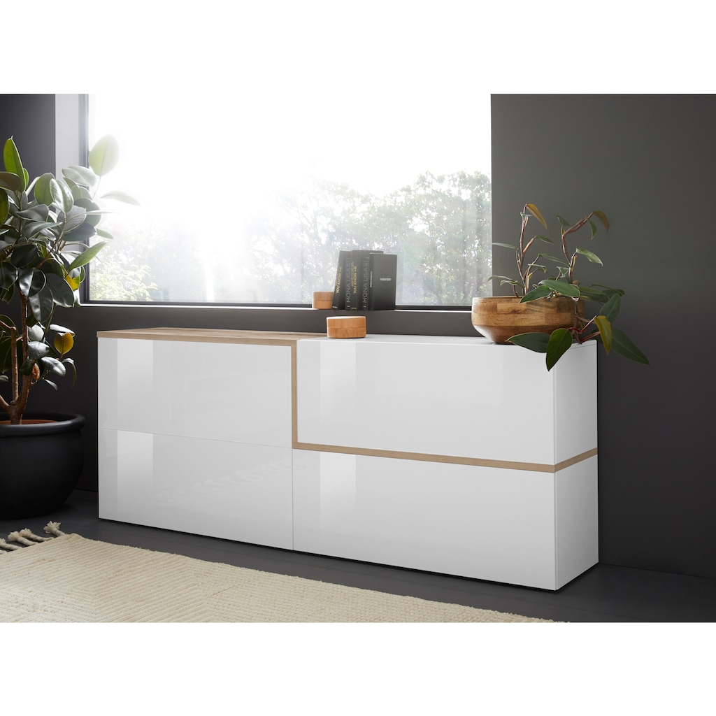 Tecnos Sideboard »Zet«, Breite 210 cm