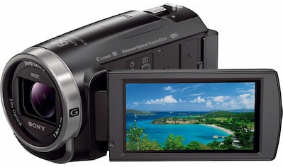 Sony Camcorder »HDR-CX625B«, Full HD, NFC-WLAN (Wi-Fi), 30x opt. Zoom, 26,8mm Weitwinkel kaufen