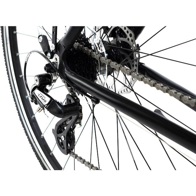 KS Cycling Urbanbike »Norfolk Sport«, 24 Gang Shimano Altus Schaltwerk, Kettenschaltung