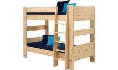 STEENS Etagenbett »FOR KIDS«, mit Leiter, in verschiedenen Farben kaufen