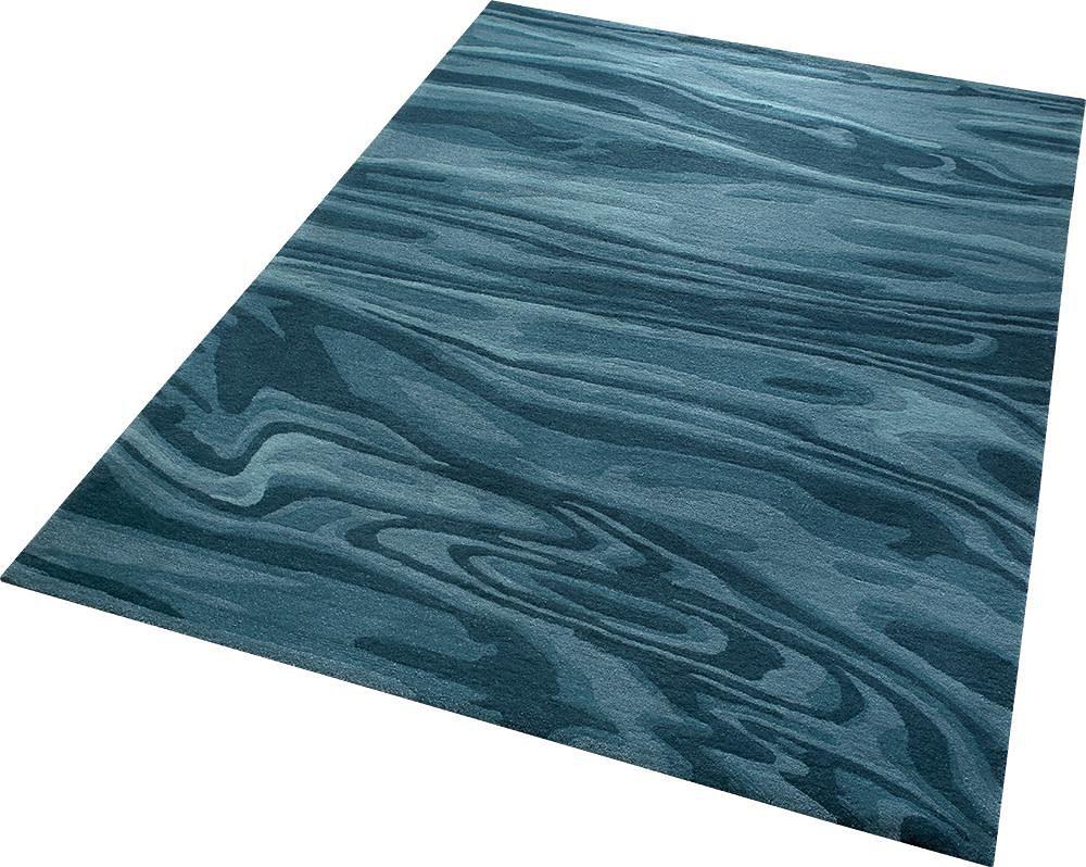 Teppich Deep Water Esprit rechteckig Höhe 12 mm handgetuftet