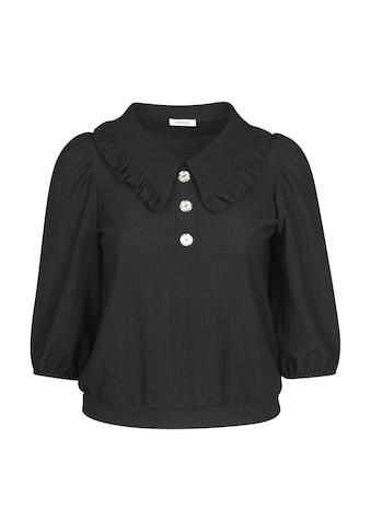 Paprika 3/4-Arm-Shirt »mit breitem Rundhals«, casual Naturfarbe aus Viskose kaufen