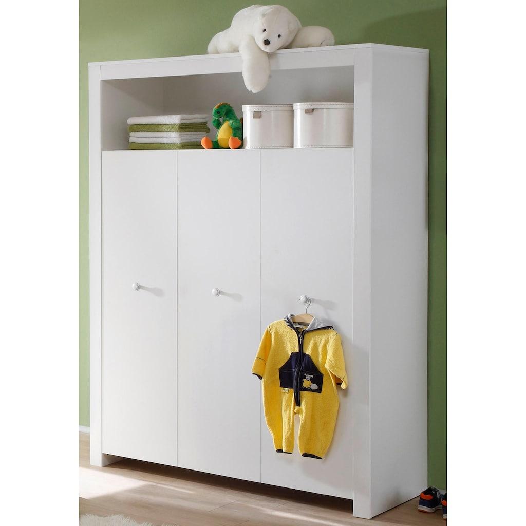 Babyzimmer-Komplettset »Trend«, (Set, 3 St.), Bett + Wickelkommode + 3 trg. Schrank