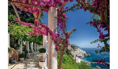 Komar Fototapete »Amalfi«, bedruckt-Stadt-Meer, ausgezeichnet lichtbeständig kaufen