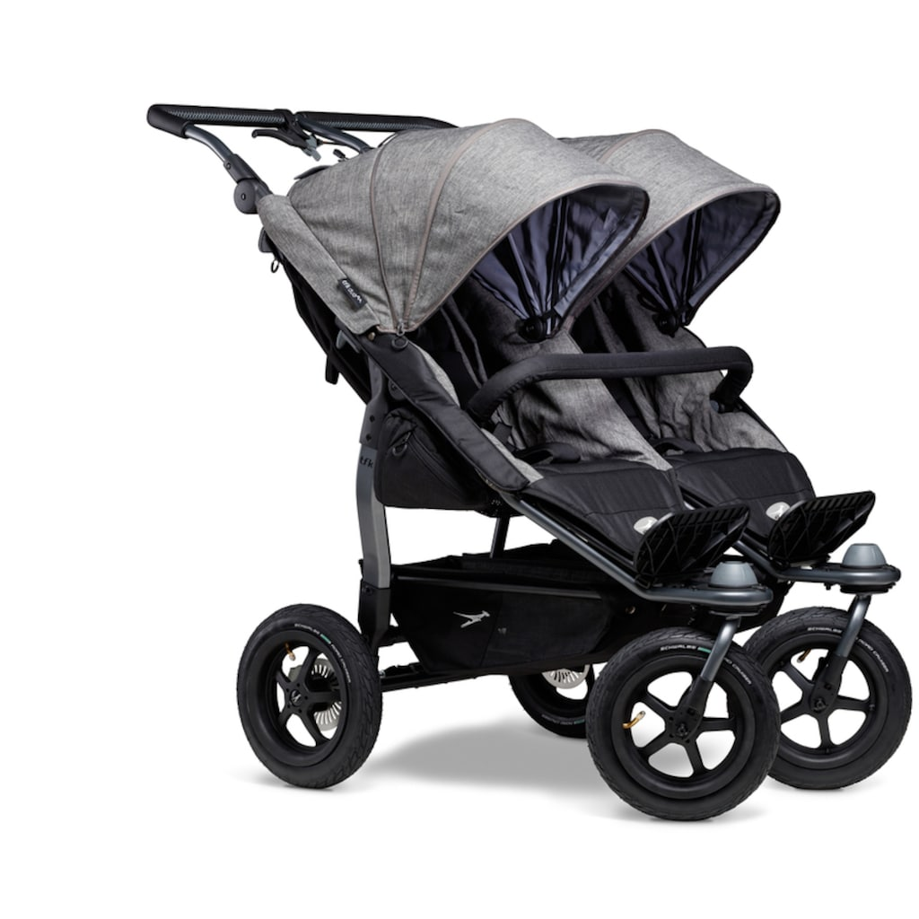 tfk Zwillingsbuggy »Sportkinderwagen duo«, 45 kg, Zwillingskinderwagen; Kinderwagen für Zwillinge; Buggy für Zwillinge; Zwillingswagen