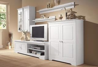 home affaire wohnwand set 4 tlg kaufen baur. Black Bedroom Furniture Sets. Home Design Ideas