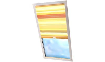 Dachfensterrollo »Dekor«, Liedeco, Lichtschutz, in Führungsschienen kaufen