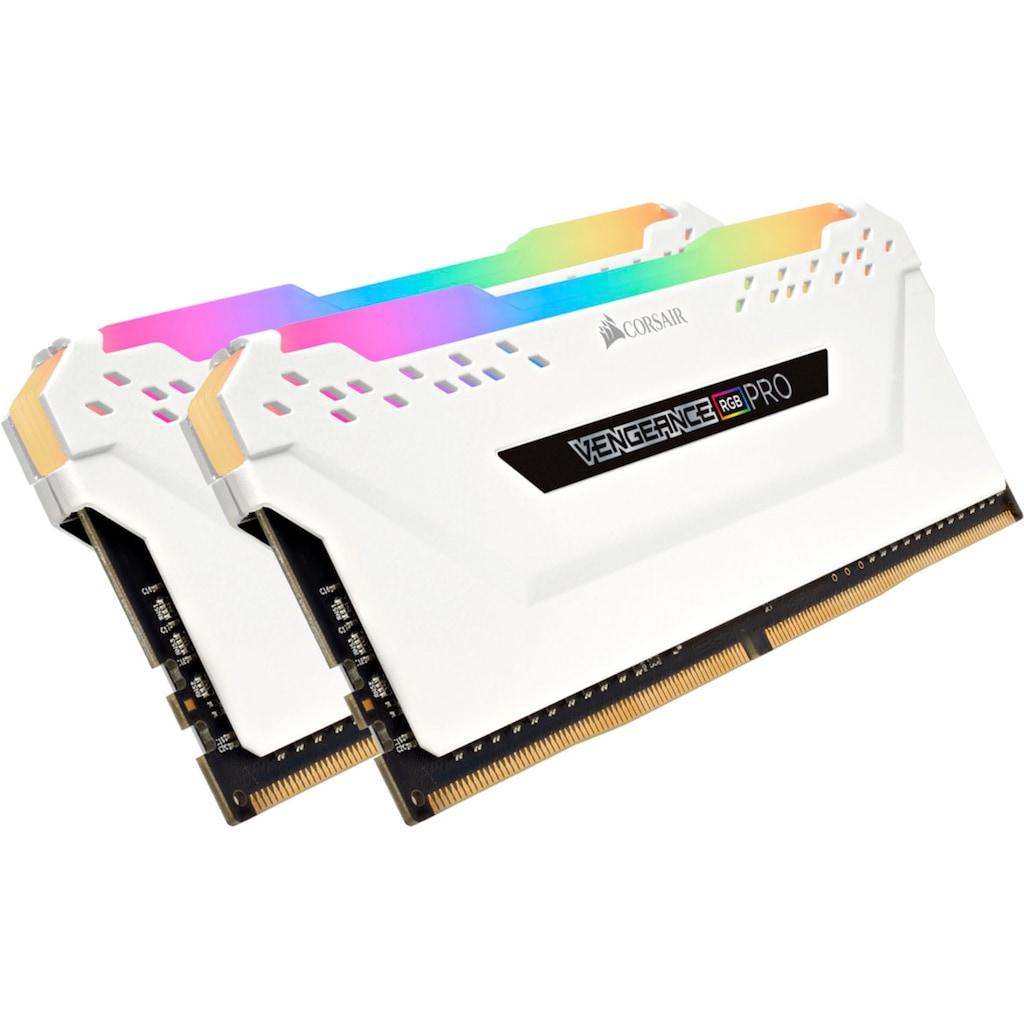 Corsair PC-Arbeitsspeicher »VENGEANCE® RGB PRO 16 GB (2 x 8 GB) DDR4 DRAM 3.200 MHz C16«