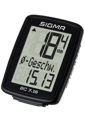 SIGMA SPORT Fahrradcomputer »BC 7.16« kaufen