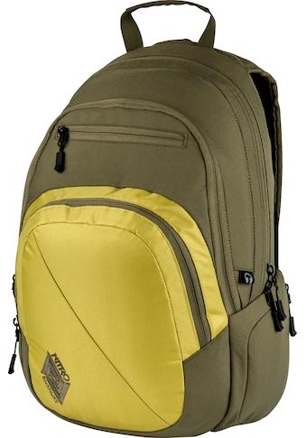 NITRO Schulrucksack »Stash 29, Golden Mud« kaufen