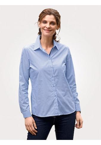 Mona Hemdbluse, mit Streifendruck kaufen