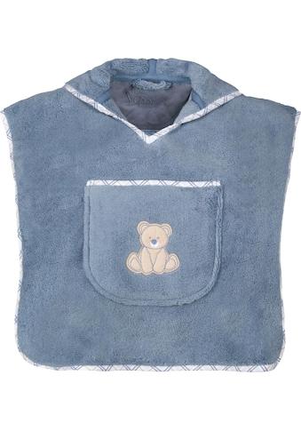 Vossen Badeponcho »Teddy«, mit aufgesetzter Tasche kaufen