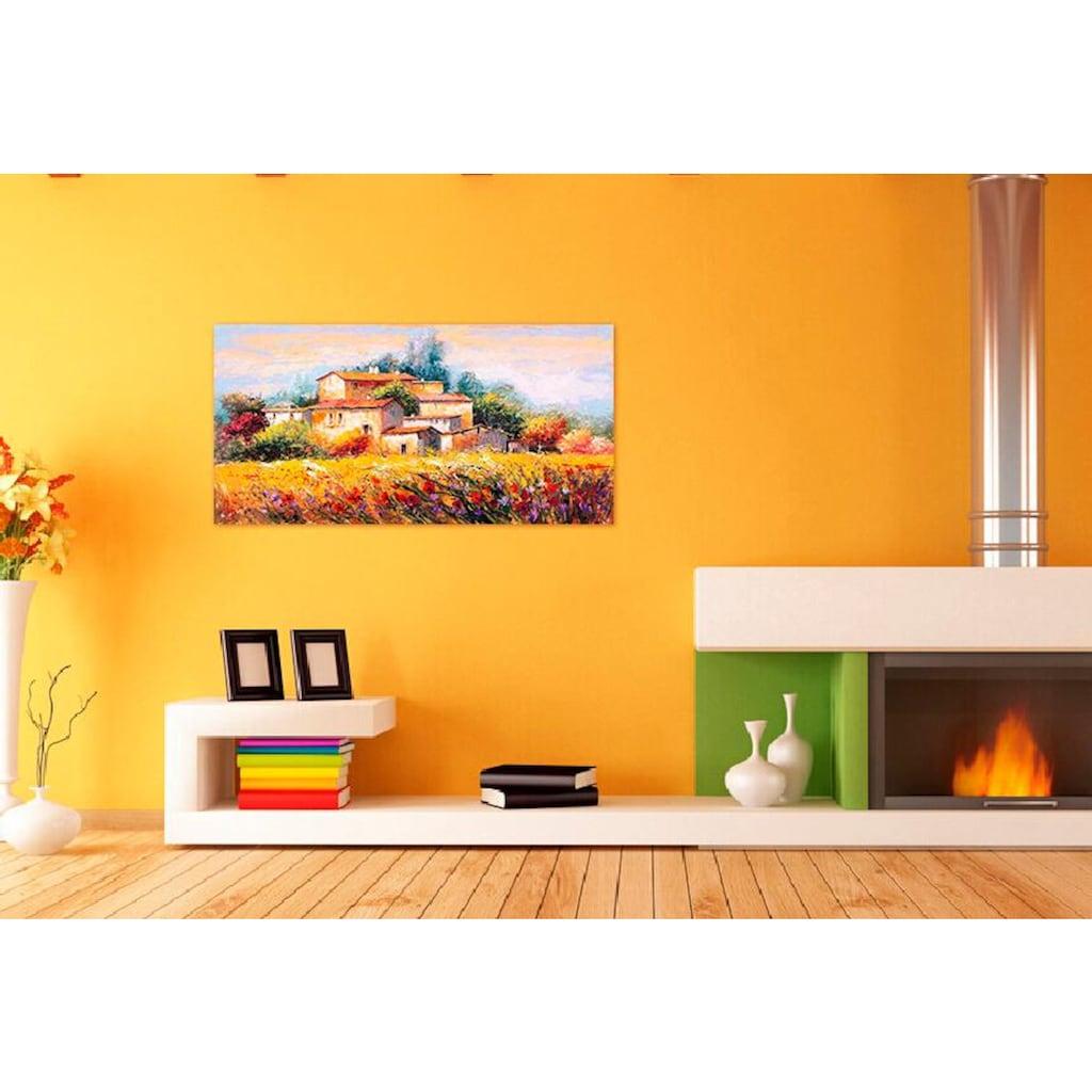 Home affaire Deco-Panel »LUIGI FLORIO / Campo d'estate«, 100/50 cm