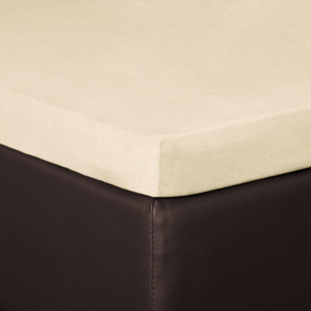 BETTWARENSHOP Spannbettlaken »Topper Spannbetttuch«, elastisch mit guter Passform