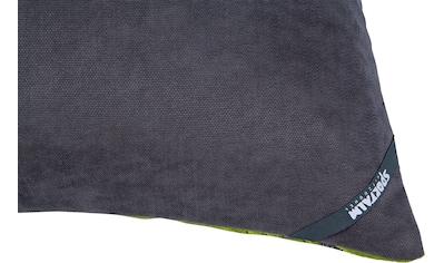 Sportalm Kitzbühel Kissenbezug »Mojito«, (1 St.), mit Palmenblättermotiv in Samtoptik kaufen