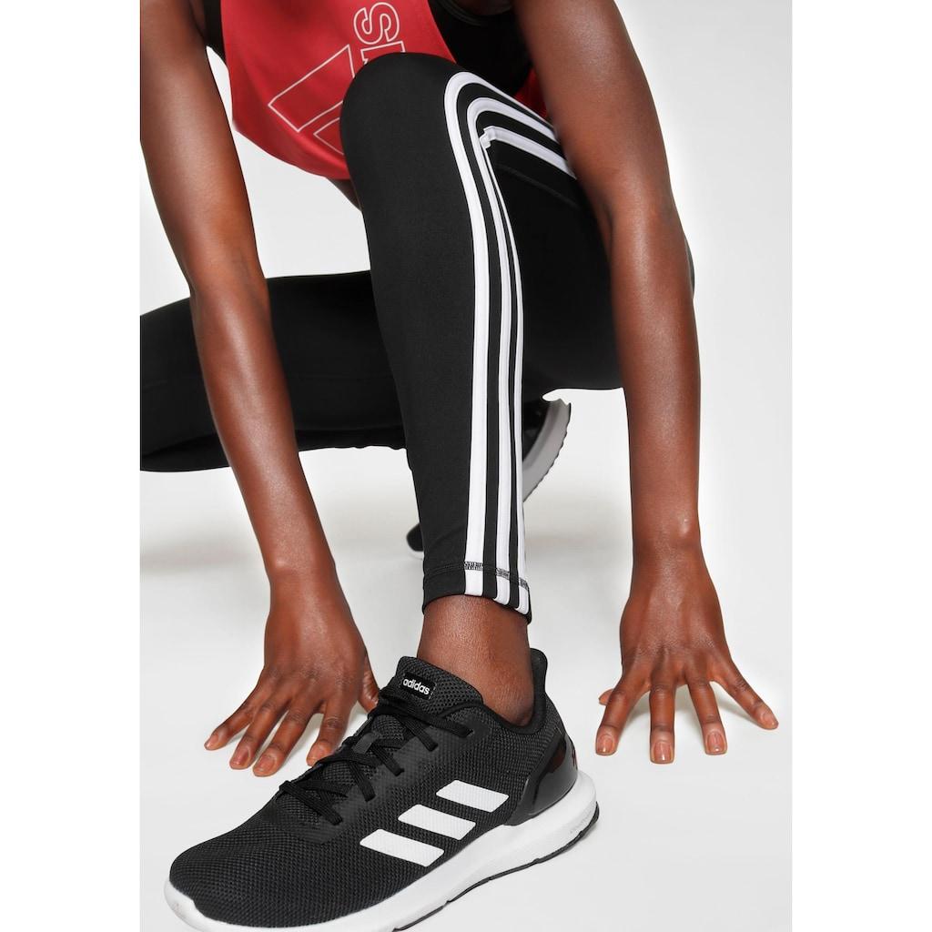 adidas Performance Funktionstights »PULSE LONG REGULAR RISE 3 STRIPES TIGHT«