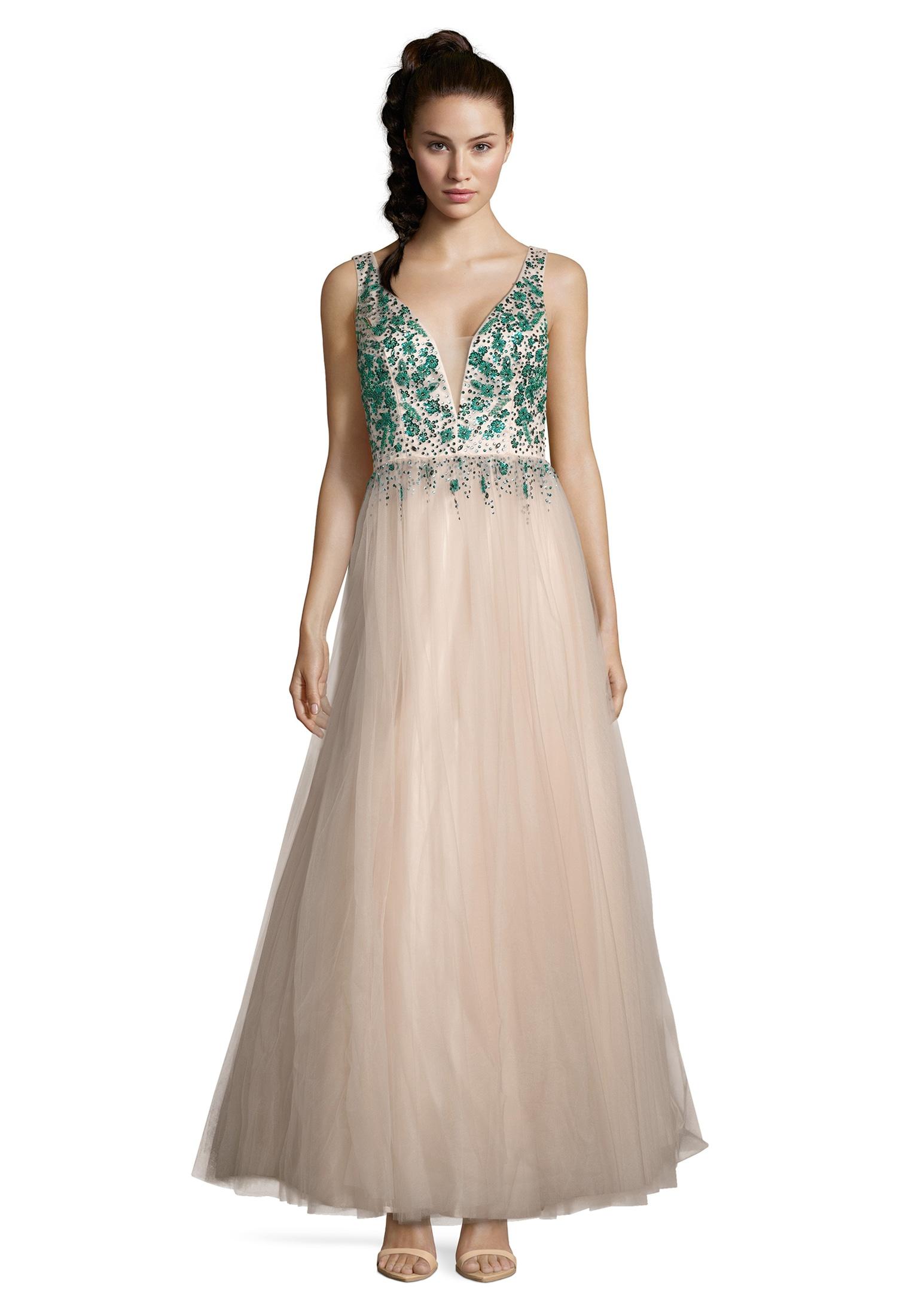 vera mont -  Abendkleid mit Raffung