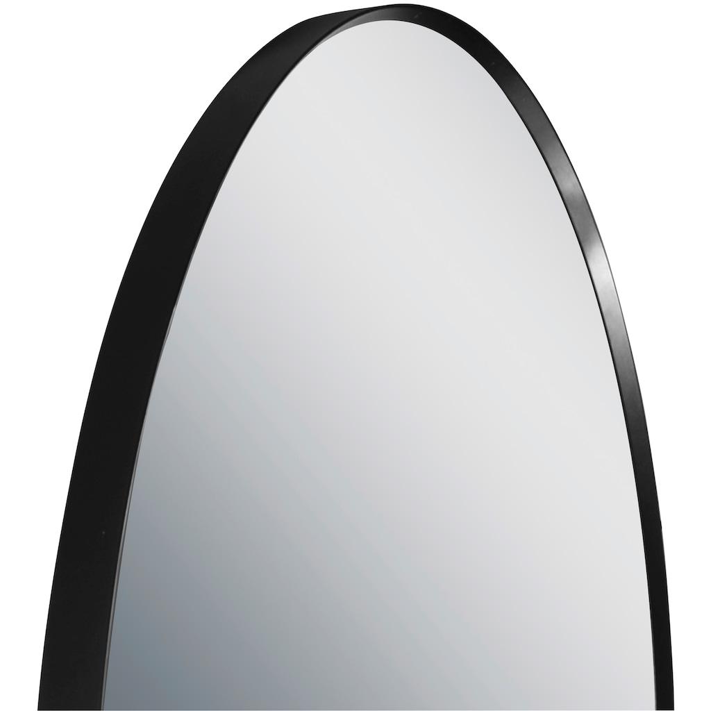 Talos Badspiegel »Black Circle«, (Komplett-Set)