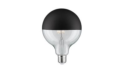Paulmann LED-Leuchtmittel »Globe 6,5 Watt E27 Kopfspiegel Schwarz matt Warmweiß«, E27, 1 St., Warmweiß kaufen