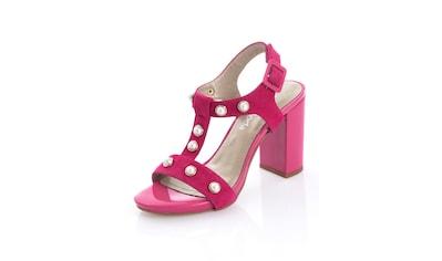 Alba Moda Sandalette mit Schmuckperlen besetzt kaufen