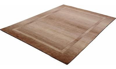 THEKO Wollteppich »Empire 9035«, rechteckig, 14 mm Höhe, reine Wolle, handgewebt,... kaufen