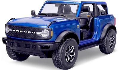 Maisto® Sammlerauto »Ford Bronco ´21, no doors Badlands«, 1:18 kaufen