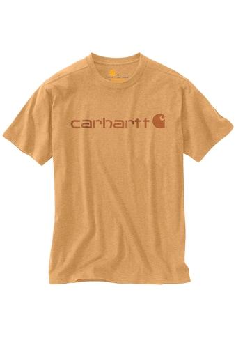 Carhartt T-Shirt »CORE LOGO T-SHIRT S/S« kaufen