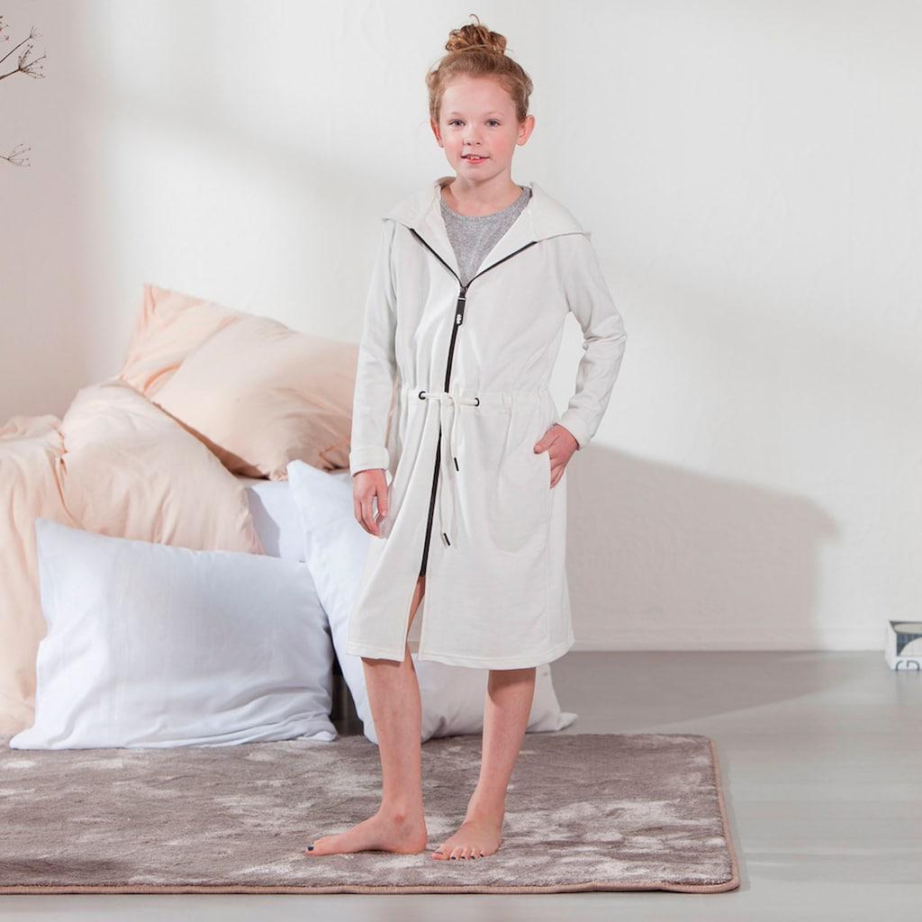 Seahorse Kinderbademantel »Taylor«, (1 St.), in meliertem Uni-Look