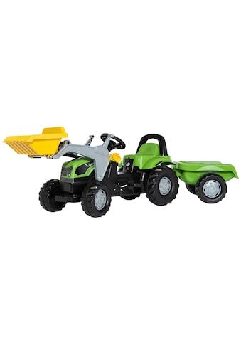 Rolly Toys Tretfahrzeug »Deutz 5115 G«, Traktor mit Trailer und Lader kaufen