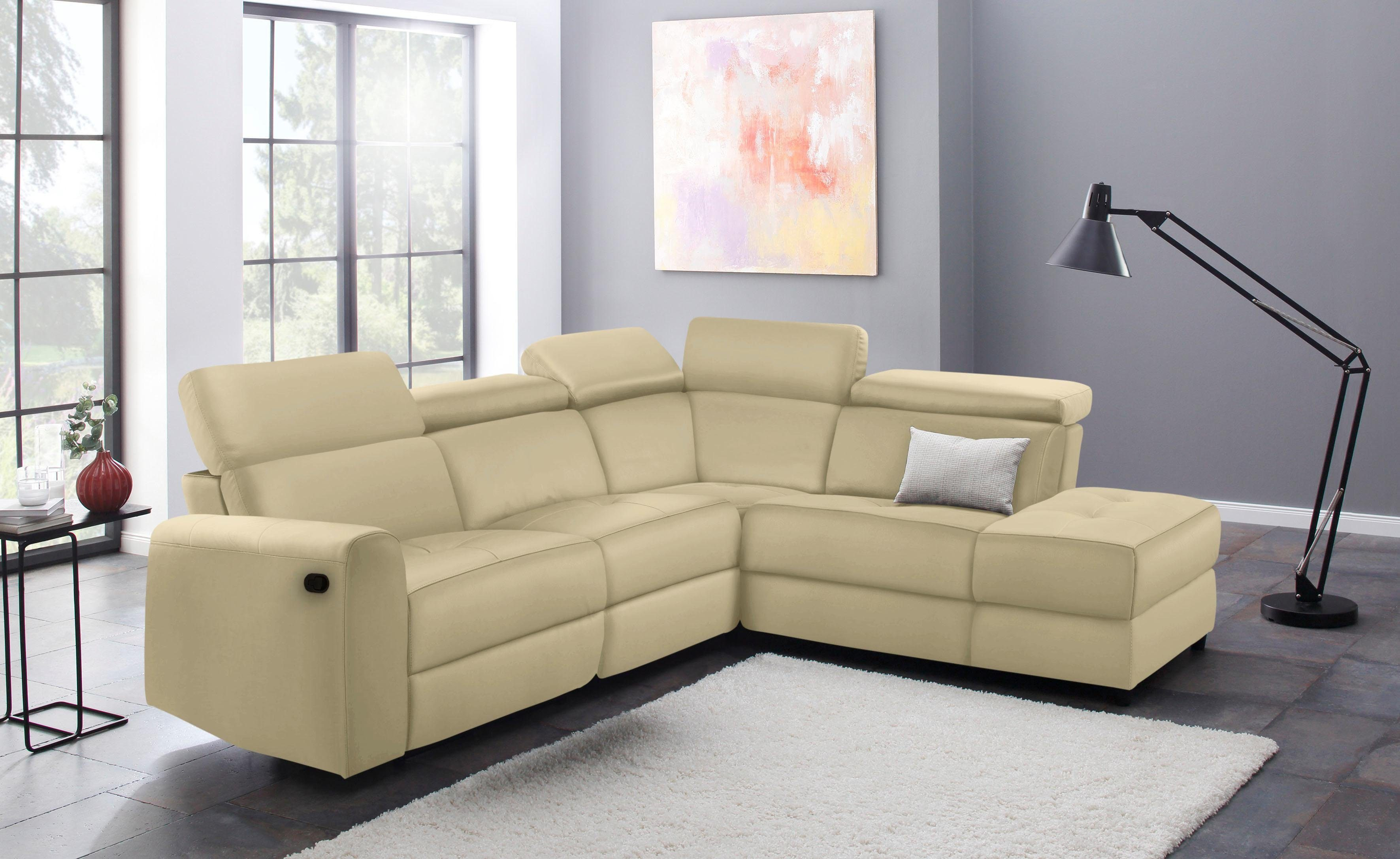Home affaire Ecksofa Sentrano | Wohnzimmer > Sofas & Couches > Ecksofas & Eckcouches | home affaire