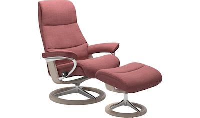 Stressless® Relaxsessel »View«, mit Signature Base, Größe L,Gestell Whitewash kaufen