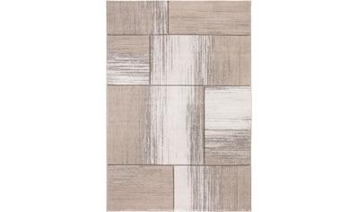 LUXOR living Teppich »Pallencia«, rechteckig, 15 mm Höhe, Patchwork Design, Wohnzimmer kaufen