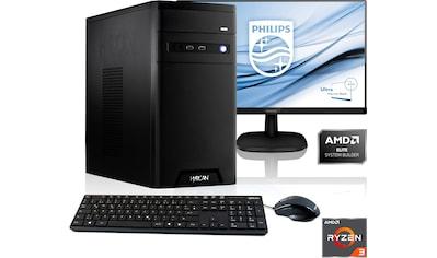 Hyrican »Home - Office 6433« PC - Komplettsystem (AMD, Ryzen 3) kaufen