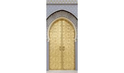 MySpotti Spritzschutz »fresh F2 Ancient Door«, 90 x 210 cm kaufen