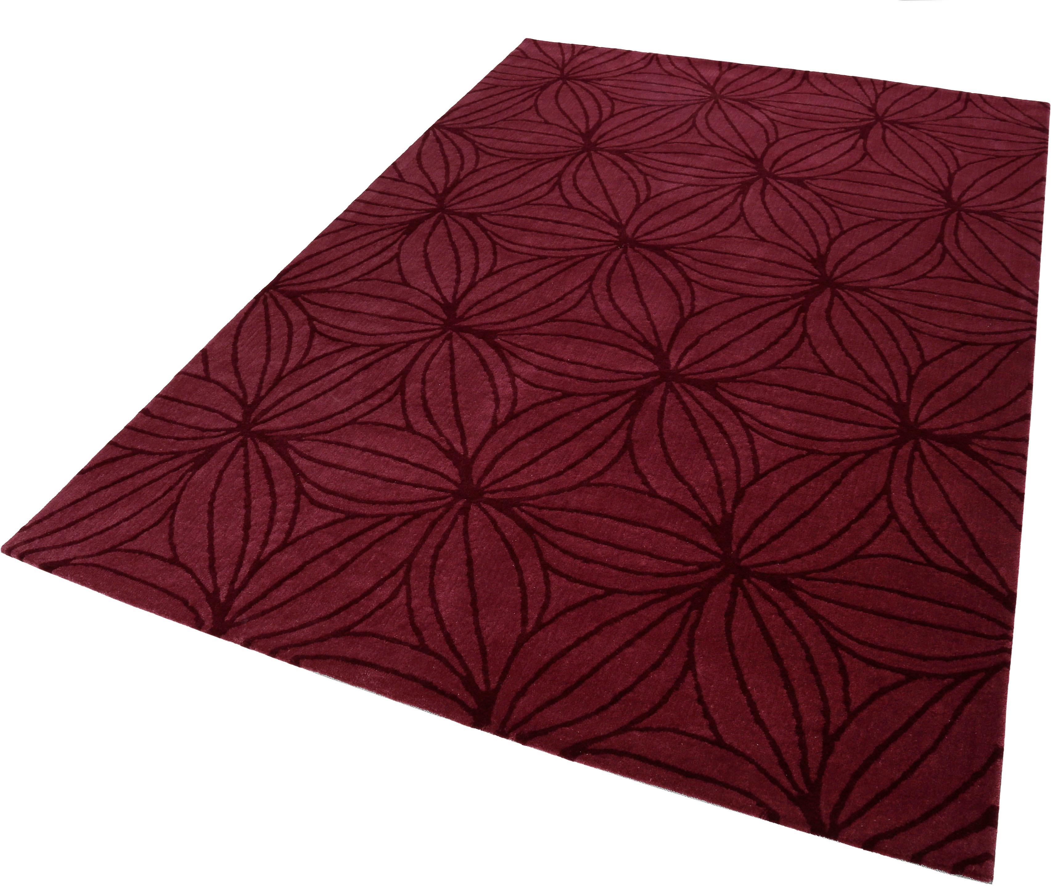 Wollteppich Oria Esprit rechteckig Höhe 10 mm handgetuftet