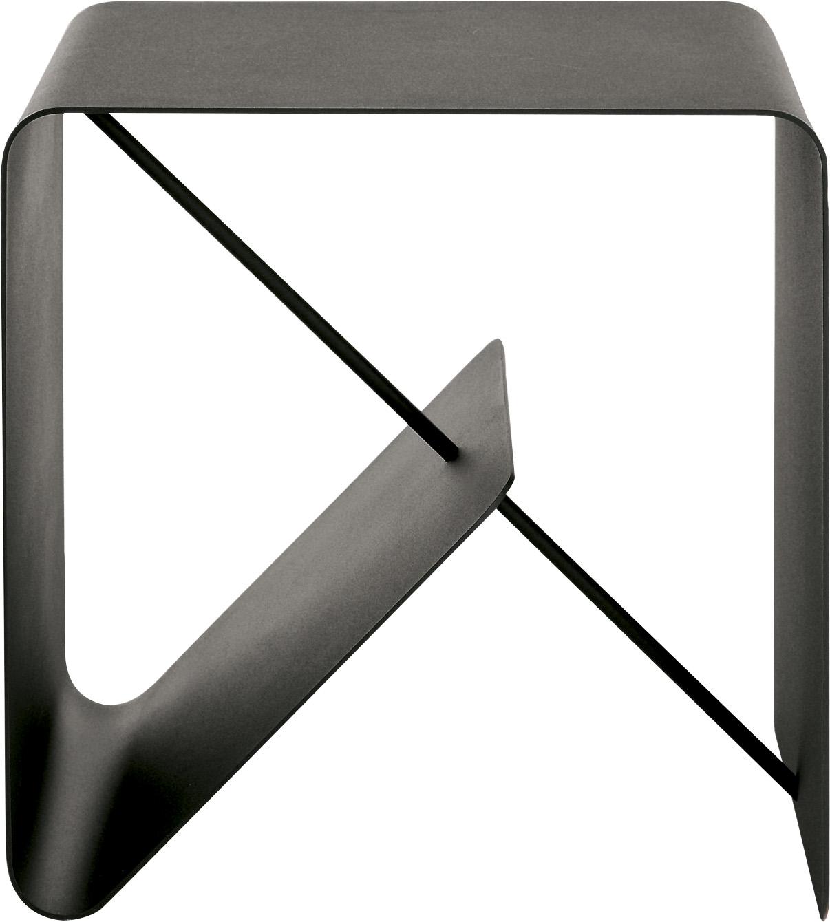 hülsta Beistelltisch MULTI - VARIS 01, aus Metall, Höhe 42,5 cm grau Beistelltische Tische