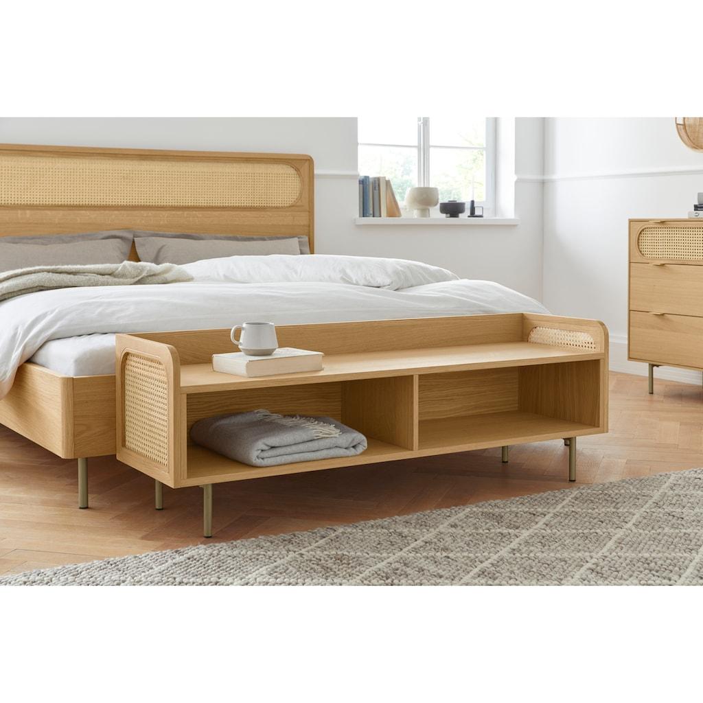 andas Sitzbank »Liselle«, Design by Morten Georgsen, mit Wiener Geflecht