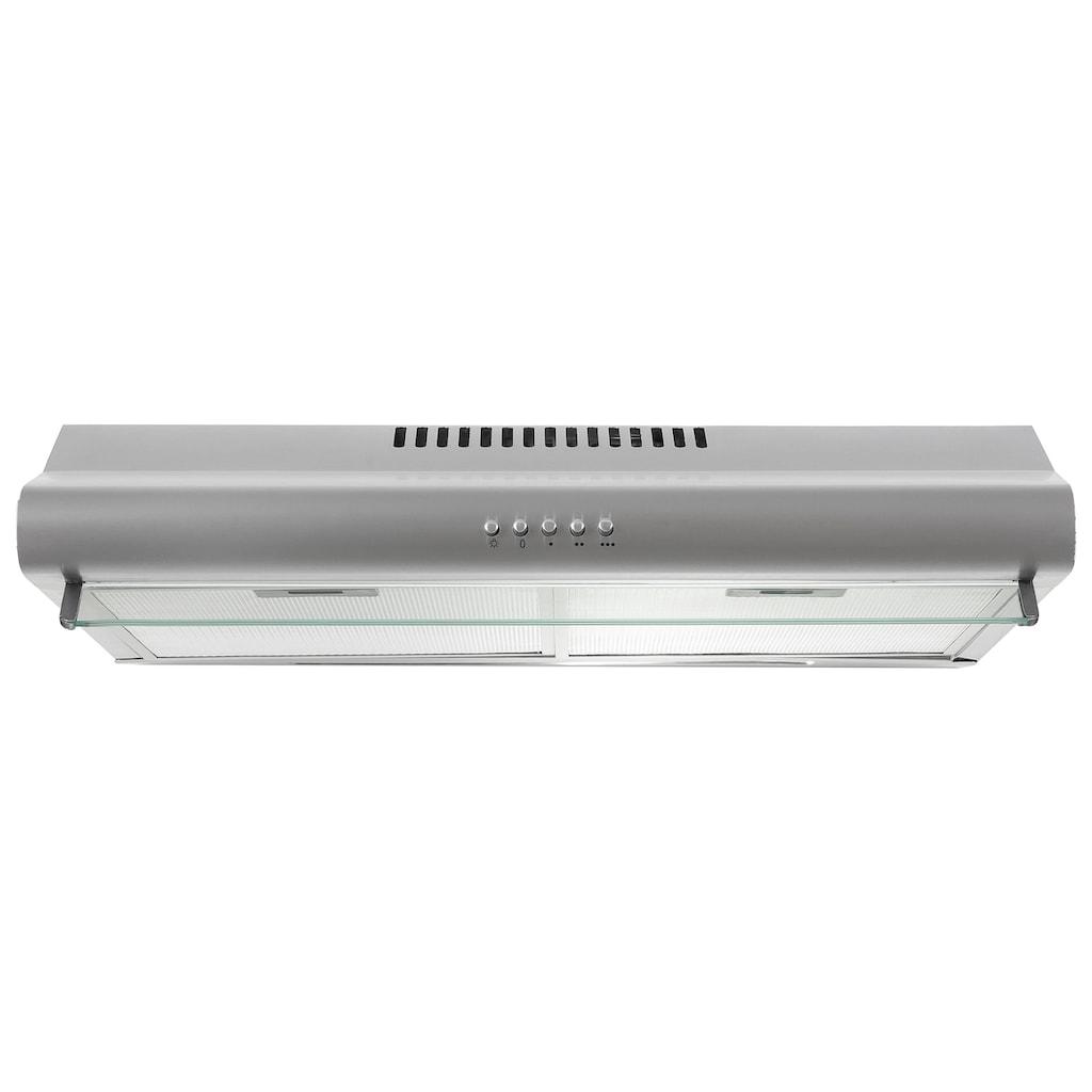 HELD MÖBEL Küchenzeile »Falun«, mit E-Geräten, Breite 210 cm mit Fräsungen in den Fronten