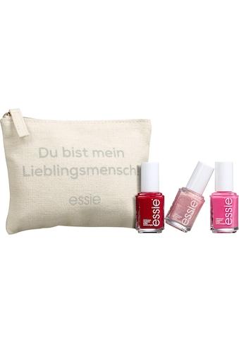 essie Nagellack-Set »Geschenkset Lieblingsmensch«, (4 tlg.) kaufen