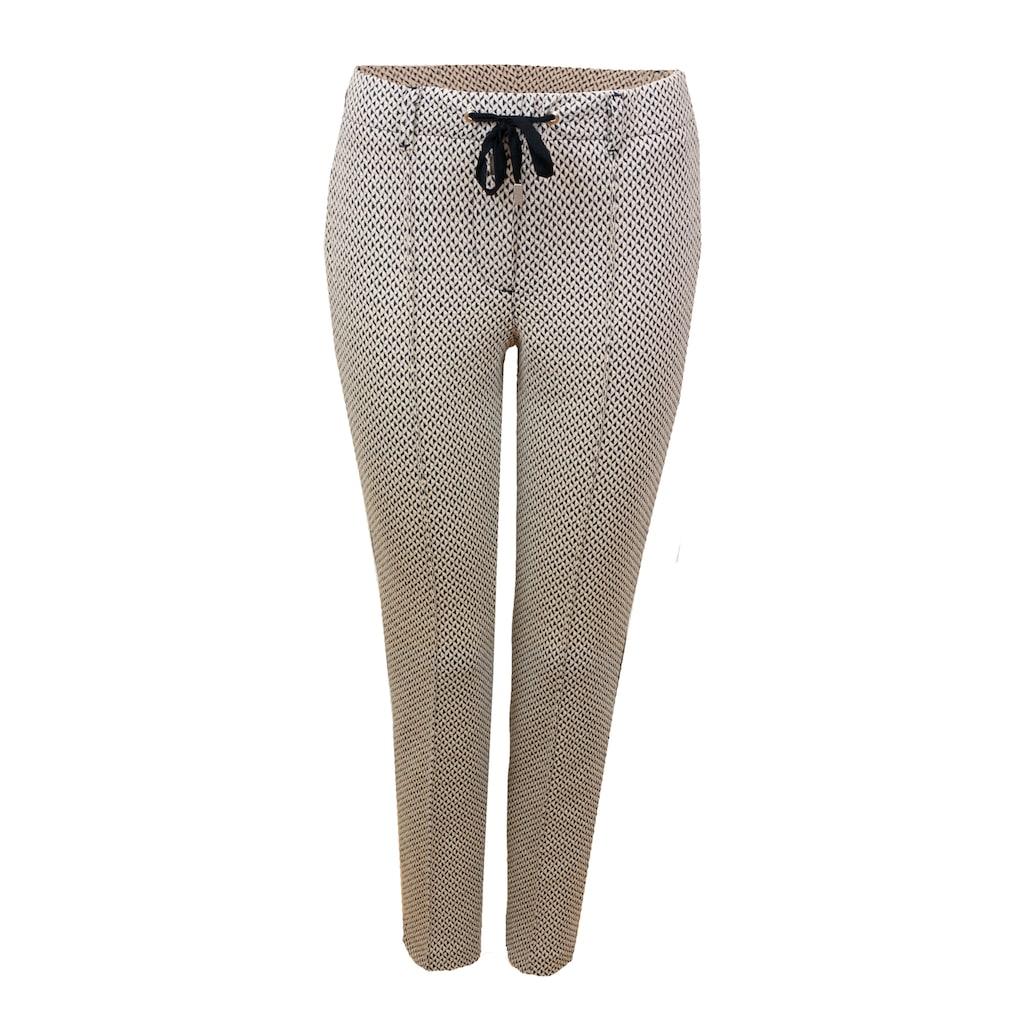 bianca Jerseyhose »DENVER«, im stylischen Minimal-Jacquard