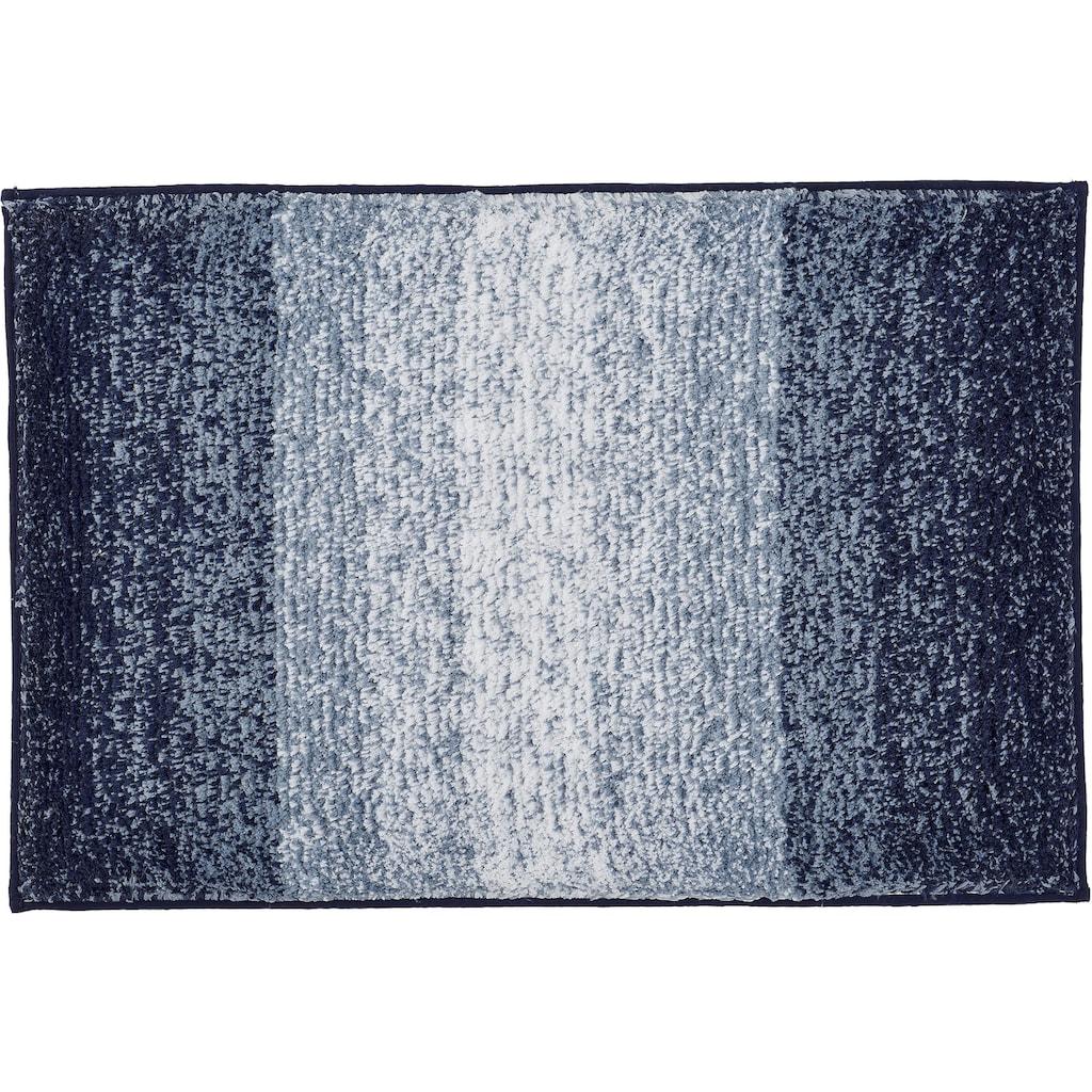 Kleine Wolke Badematte »Oslo«, Höhe 30 mm, rutschhemmend beschichtet, fußbodenheizungsgeeignet