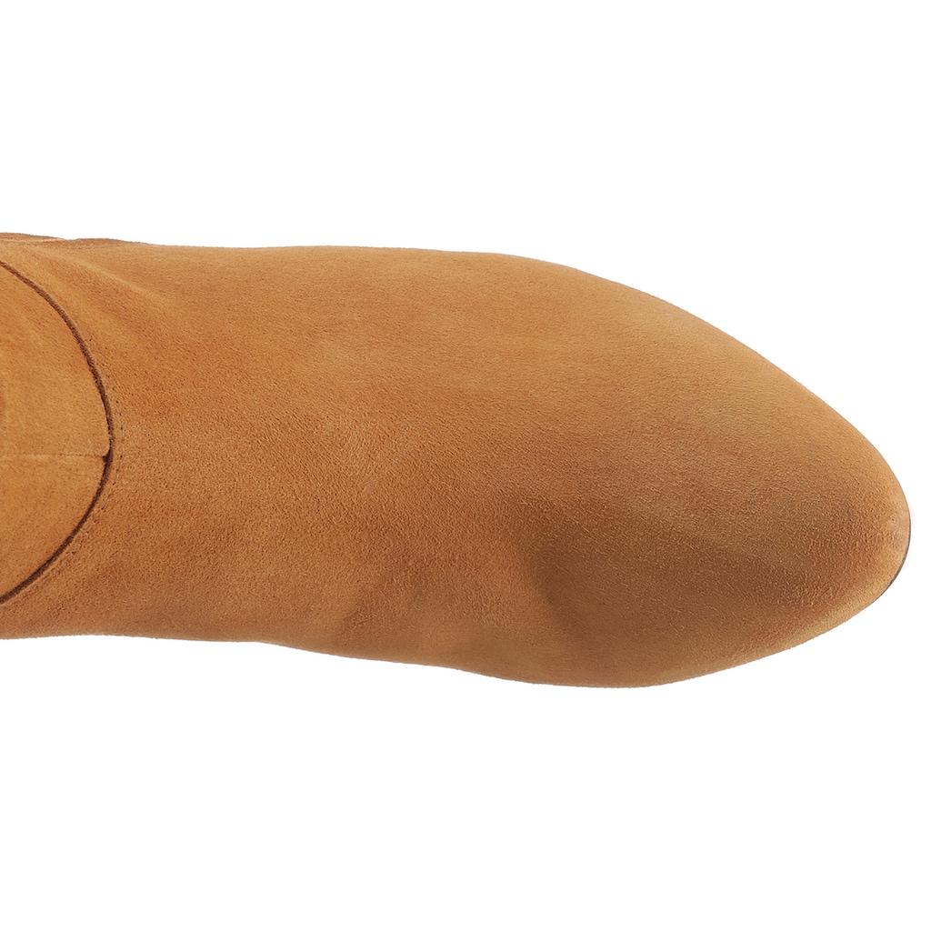 Gabor Stiefel, mit modischen Raffungen am Schaft