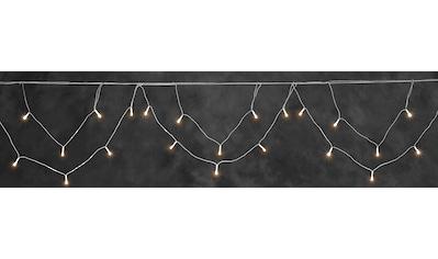 KONSTSMIDE LED-Lichtervorhang, LED Dachrinnenlichterkette für den Außenbereich,... kaufen