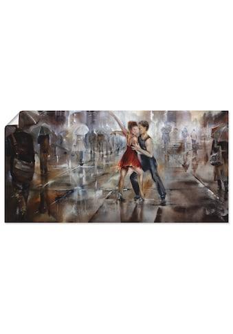 Artland Wandbild »Es regnet wieder«, Paar, (1 St.), in vielen Größen & Produktarten -... kaufen