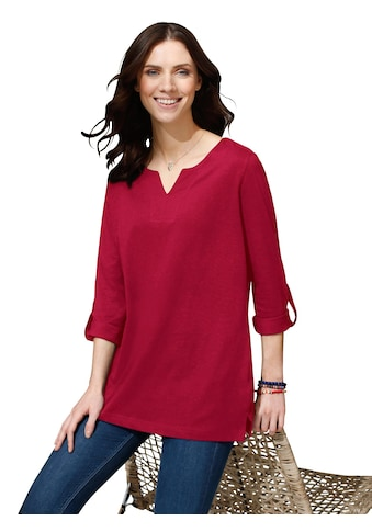 Classic Basics Shirt in leichter A - Form kaufen