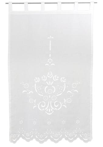 Vorhang, »Ortler«, HOSSNER  -  ART OF HOME DECO, Schlaufen 1 Stück kaufen
