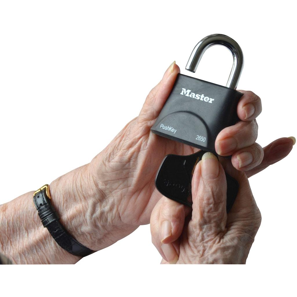 Master Lock Vorhängeschloss »PushKey & Trade«